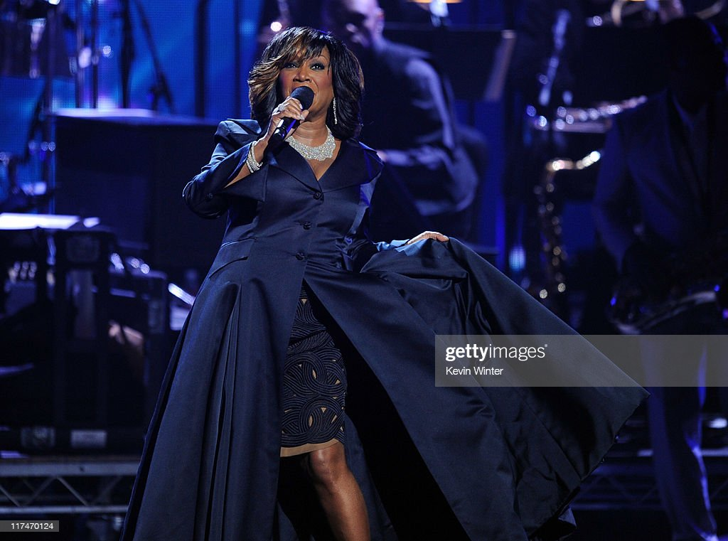 Singer Patti LaBelle performs onstage during the BET Awards '11 held at the Shrine Auditorium on June 26, 2011 in Los Angeles, California.