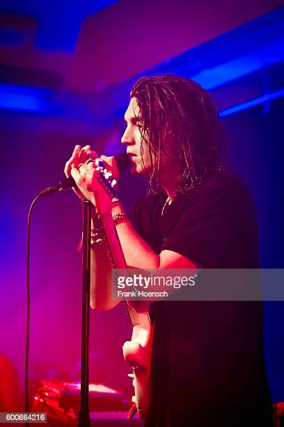 Singer Paul Jason Klein of the American band Lany performs live during a concert at the Berghain Kantine on September 8 2016 in Berlin Germany