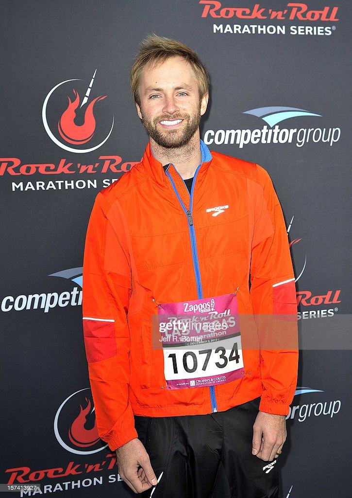 Singer Paul McDonald arrives at the Zappos.com Rock 'n' Roll Las Vegas Marathon and Half-Marathon on December 2, 2012 in Las Vegas, Nevada.