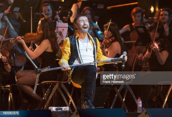 Singer Paul Rodgers performs live during 'Rock meets Classic 2013' at the MaxSchmelingHalle on February 18 2013 in Berlin Germany