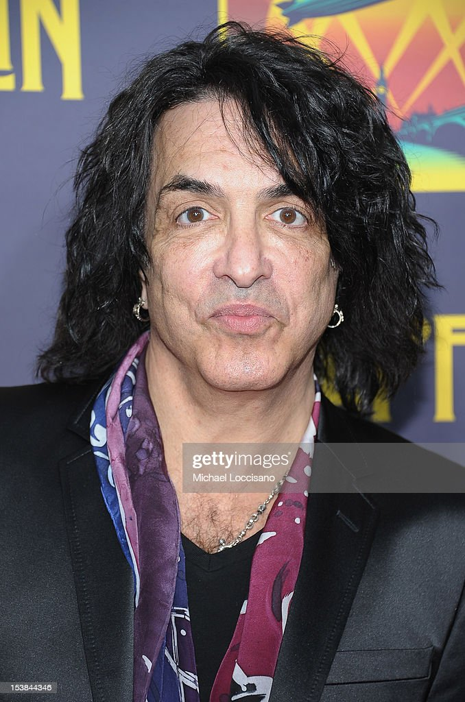 Singer Paul Stanley attends the 'Led Zeppelin: Celebration Day' premiere at the Ziegfeld Theater on October 9, 2012 in New York City.