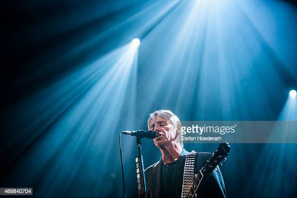 Singer Paul Weller performs live on stage during a concert at Admiralspalast on April 15 2015 in Berlin Germany