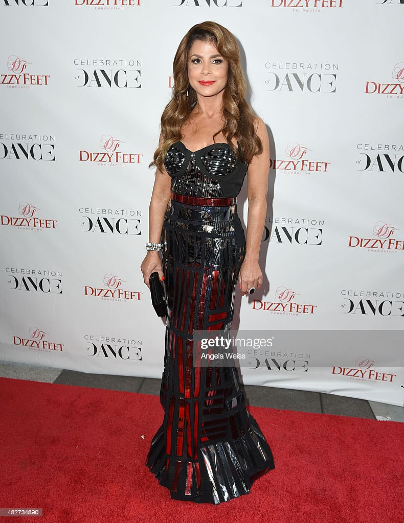 Singer Paula Abdul attends the 5th Annual Celebration of Dance Gala presented By The Dizzy Feet Foundation at Club Nokia on August 1, 2015 in Los Angeles, California.