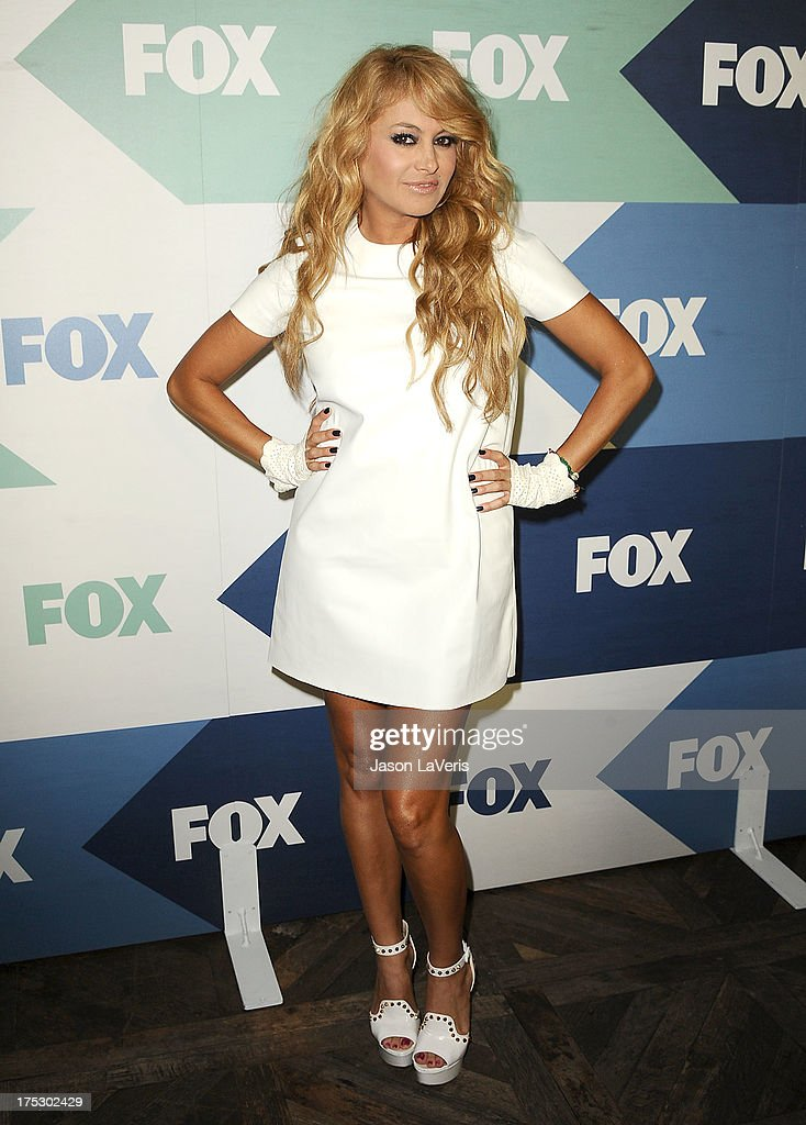 Singer Paulina Rubio attends the FOX All-Star Party on August 1, 2013 in West Hollywood, California.