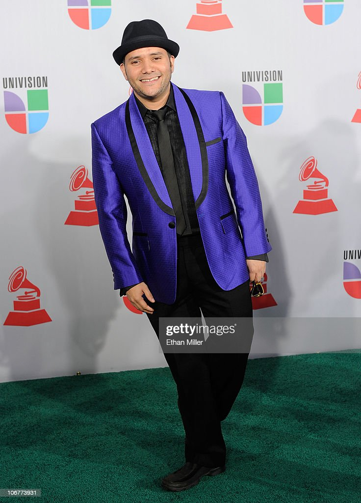 Singer Pavel Nunez arrives at the 11th annual Latin GRAMMY Awards at the Mandalay Bay Resort & Casino on November 11, 2010 in Las Vegas, Nevada.