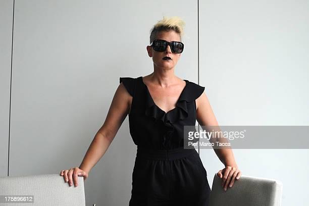 Singer Peaches attends 'Pardo Cineasti di Domani' Jury photocall during the 66th Locarno Film Festival on August 7 2013 in Locarno Switzerland