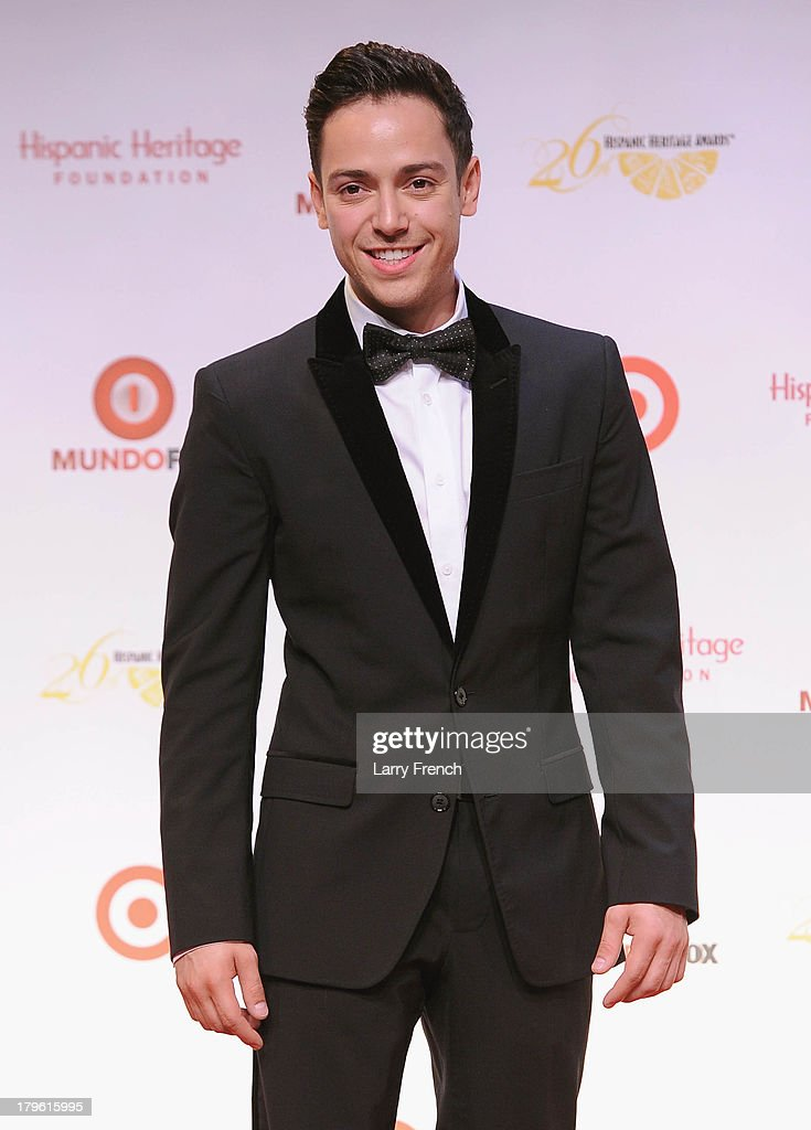 Singer PeeWee attends the 26th Annual Hispanic Heritage Awards presented by Target at the John F. Kennedy Center for the Performing Arts on September 5, 2013 in Washington, DC.