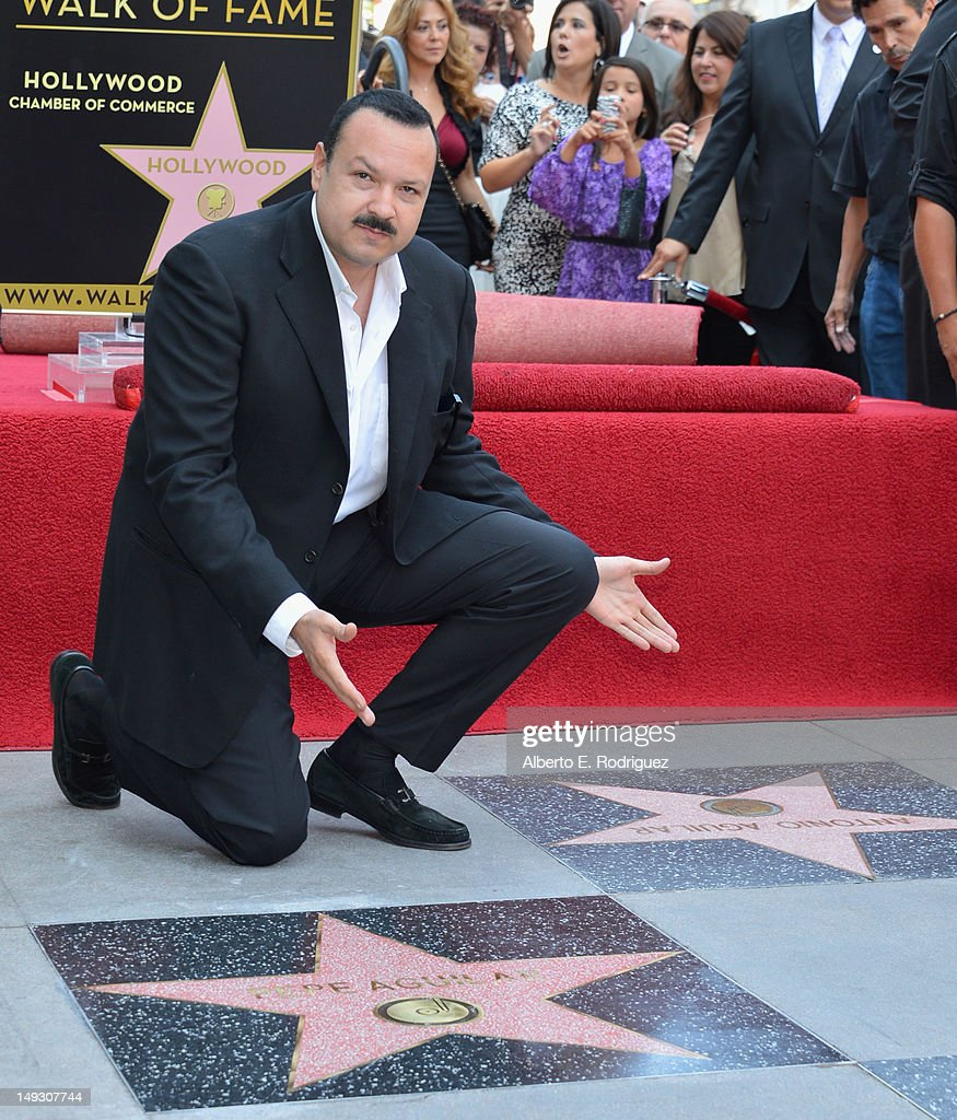 Pepe Aguilar Honored On The Hollywood Walk Of Fame