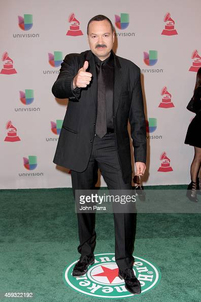 Singer Pepe Aguilar attends the 15th annual Latin GRAMMY Awards at the MGM Grand Garden Arena on November 20 2014 in Las Vegas Nevada