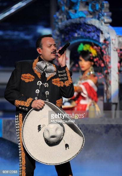 Singer Pepe Aguilar performs onstage at the 10th Annual Latin GRAMMY Awards held at the Mandalay Bay Events Center on November 5 2009 in Las Vegas...