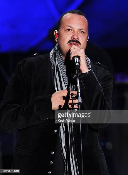 Singer Pepe Aguilar performs onstage at the 2011 Latin Recording Academy Person Of The Year Honoring Shakira held at the Mandalay Bay Resort Casino...