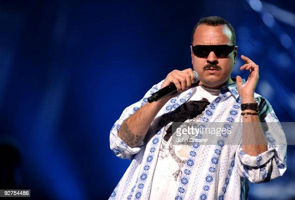 Singer Pepe Aguilar performs onstage during the 10th Annual Latin GRAMMY Awards Rehearsals Day 3 held at the Mandalay Bay Events Center on November 4...