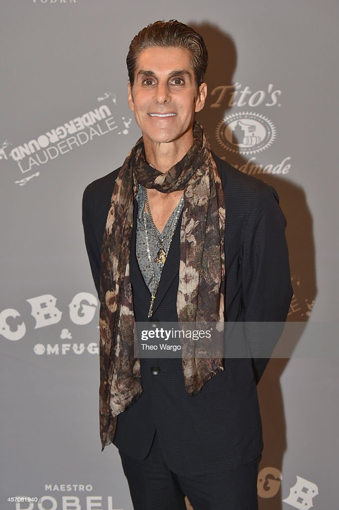 Singer Perry Farrell of Jane's Addiction attends the CBGB Music Film Festival 2014 as CBGB Presents Jane's Addiction with the CBGB Icon Award on...