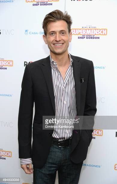 Singer Peter Cincotti attends the ''Supermensch The Legend Of Shep Gordon' screening at The Museum of Modern Art on May 29 2014 in New York City
