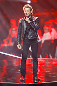 Singer Peter Maffay performs at the Echo Award 2016 show on April 07 2016 in Berlin Germany