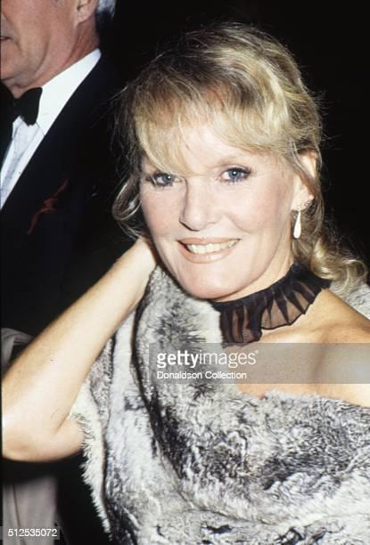Singer Petula Clark attends an event in circa 1983