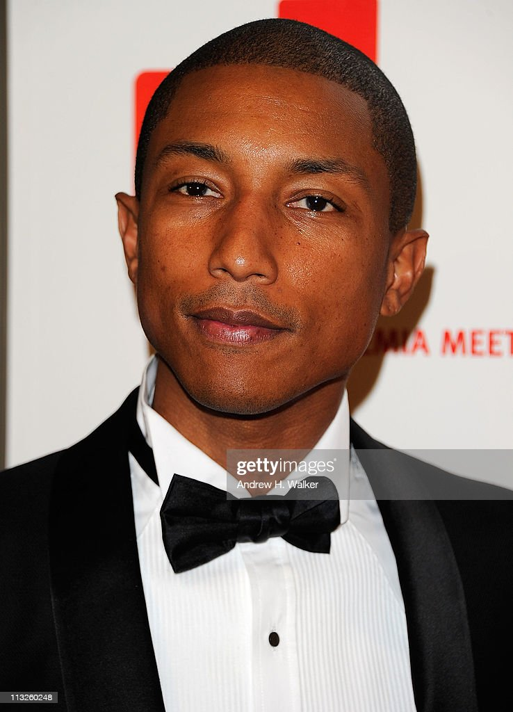 Singer <a gi-track='captionPersonalityLinkClicked' href=/galleries/search?phrase=Pharrell+Williams&family=editorial&specificpeople=161396 ng-click='$event.stopPropagation()'>Pharrell Williams</a> attends the DKMS' 5th Annual Gala: Linked Against Leukemia honoring Rihanna & Michael Clinton hosted by Katharina Harf at Cipriani Wall Street on April 28, 2011 in New York City.