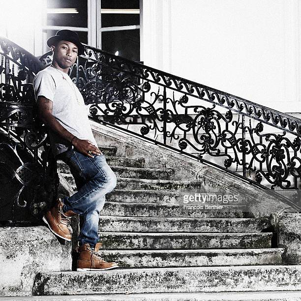 Singer Pharrell Williams is photographed for Self Assignment on October 1 2010 in Paris France