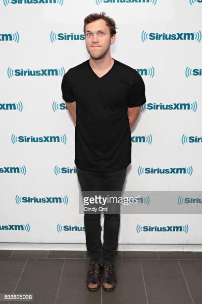 Singer Phillip Phillips visits the SiriusXM Studios on August 17 2017 in New York City