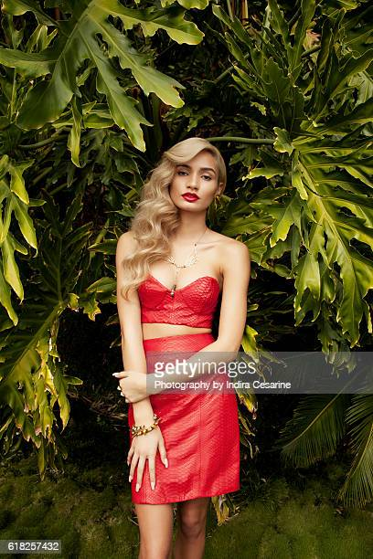 Singer Pia Mia is photographed for The Untitled Magazine on January 21 2014 in Los Angeles California PUBLISHED IMAGE CREDIT MUST READ Indira...