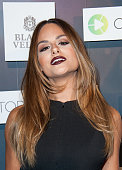 Singer Pia Toscano arrives at the Colaboratorcom Launch Party at Milk Studios on November 6 2014 in Los Angeles California