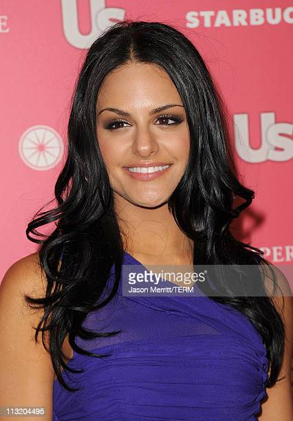Singer Pia Toscano arrives at the Us Weekly Hot Hollywood party held at Eden on April 26 2011 in Hollywood California