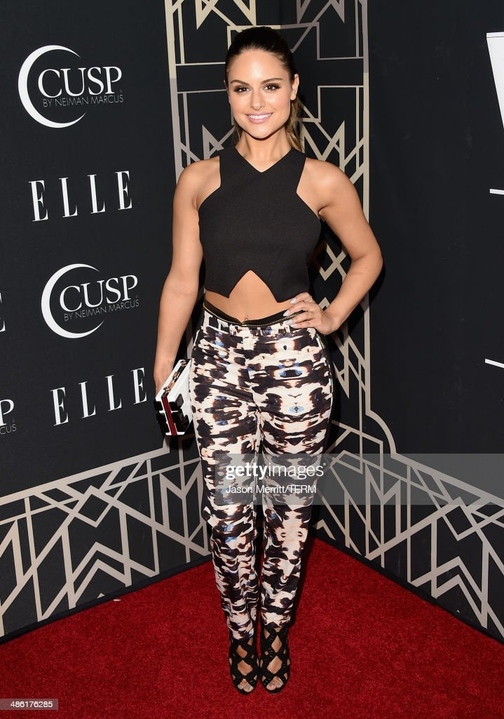 Singer Pia Toscano attends the 5th Annual ELLE Women in Music Celebration presented by CUSP by Neiman Marcus. Hosted by ELLE Editor-in-Chief Robbie Myers with performances by Sarah McLachlan, Angel Haze and Betty Who, with special DJ set by Rumer Willis at Avalon on April 22, 2014 in Hollywood, California.