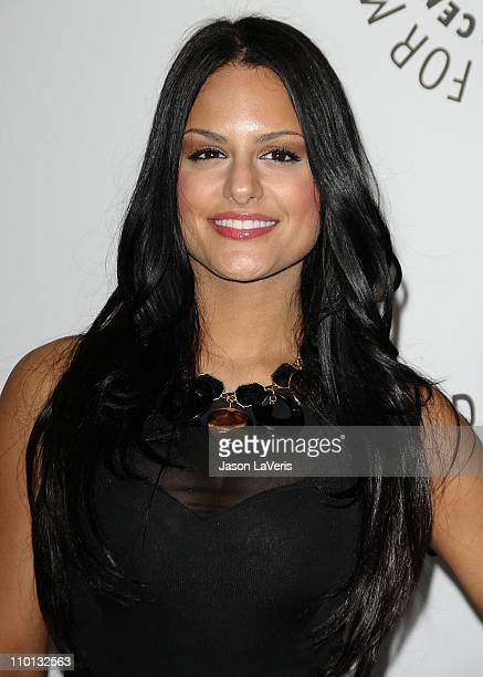 Singer Pia Toscano attends the 'American Idol' event at PaleyFest 2011 at Saban Theatre on March 14 2011 in Beverly Hills California