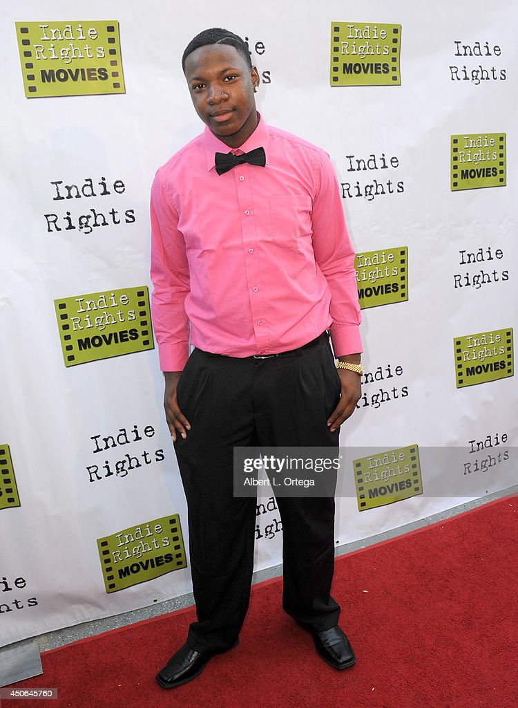 Singer Pincee J.B. arrives for the Premiere Of 'The World Famous Kid Detective' held at The Arena Theater on June 14, 2014 in Hollywood, California.