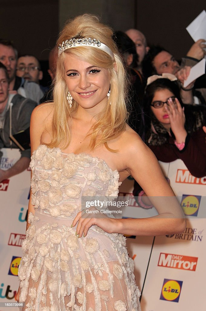 Singer Pixie Lott attends the Pride of Britain awards at Grosvenor House on October 7, 2013 in London, England.