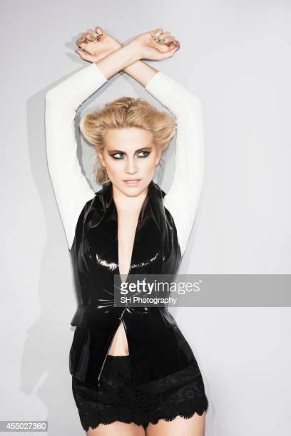 Singer Pixie Lott is photographed for Fault magazine on February 10 2014 in London England