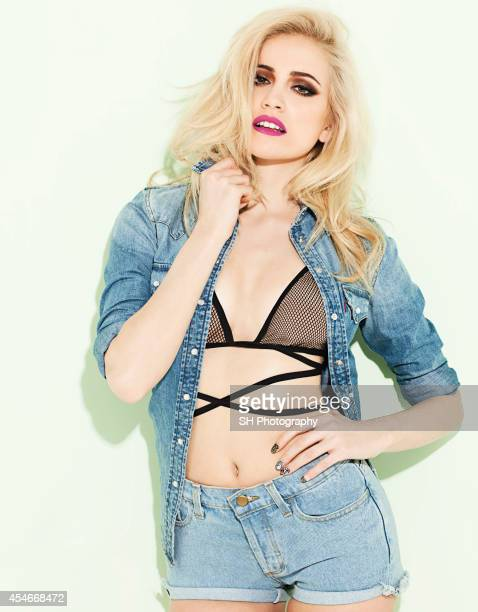 Singer Pixie Lott is photographed for Grazia magazine on March 19 2014 in London England