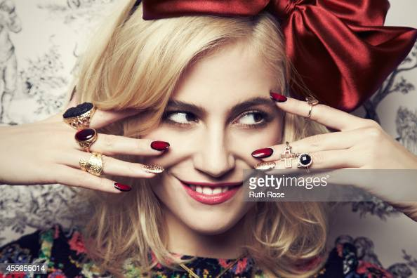 Singer Pixie Lott is photographed for Rock N Rose jewellery on October 23 2012 in London England