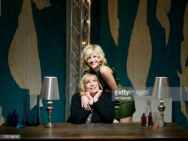 Singer Pixie Lott with her mother Beverely are photographed for Sunday Times on April 16 2012 in London England