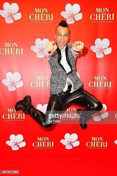 Singer Prince Damien attends the Mon Cheri Barbara Tag at Postpalast on December 2 2016 in Munich Germany