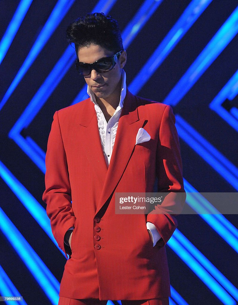 Image result for prince 50th grammys