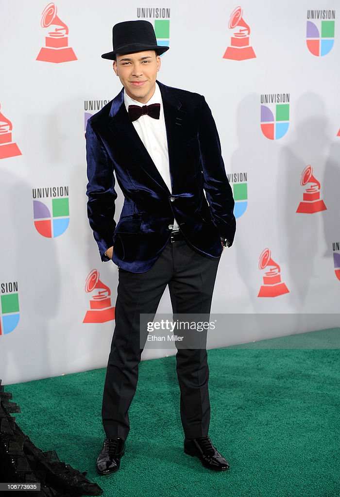 Singer Prince Royce arrives at the 11th annual Latin GRAMMY Awards at the Mandalay Bay Resort & Casino on November 11, 2010 in Las Vegas, Nevada.