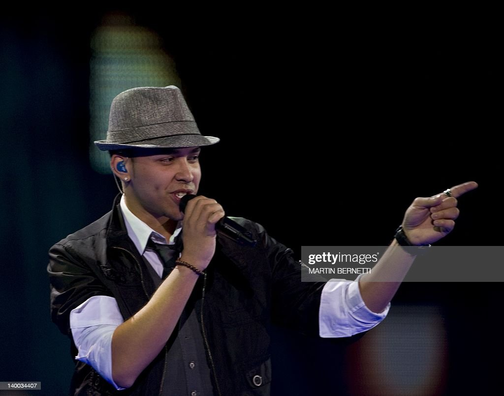 US singer Prince Royce performs during the 53nd Vina del Mar International Song Festival on February 26, 2012 in Vina del Mar.