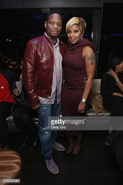 Singer/ producer Mary J Blige and husband/ record producer Kendu Isaacs attend the 2015 Tribeca Film Festival afterparty for 'Mary J Blige The London...