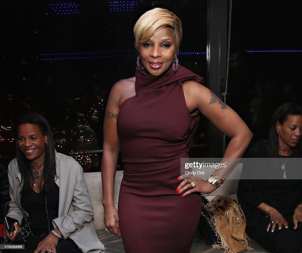 Singer/ producer Mary J Blige attends the 2015 Tribeca Film Festival afterparty for 'Mary J Blige The London Sessions' sponsored by American Express...