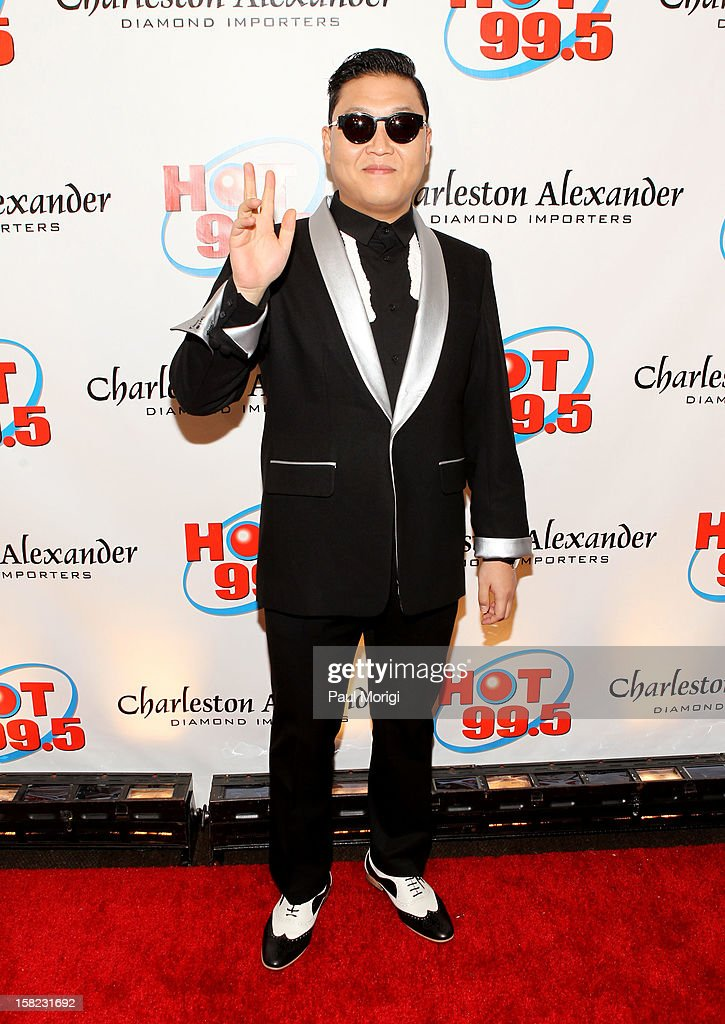 Singer PSY attends Hot 99.5's Jingle Ball 2012, presented by Charleston Alexander Diamond Importers, at The Patriot Center on December 11, 2012 in Washington, D.C.