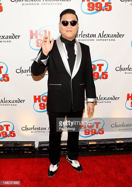 Singer PSY attends Hot 995's Jingle Ball 2012 presented by Charleston Alexander Diamond Importers at The Patriot Center on December 11 2012 in...