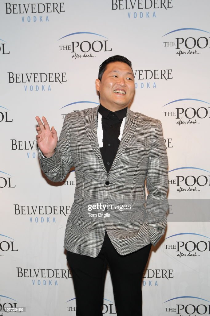 Singer PSY hosts The Pool After Dark at Harrah's Resort on Saturday December 5, 2012 in Atlantic City, New Jersey.