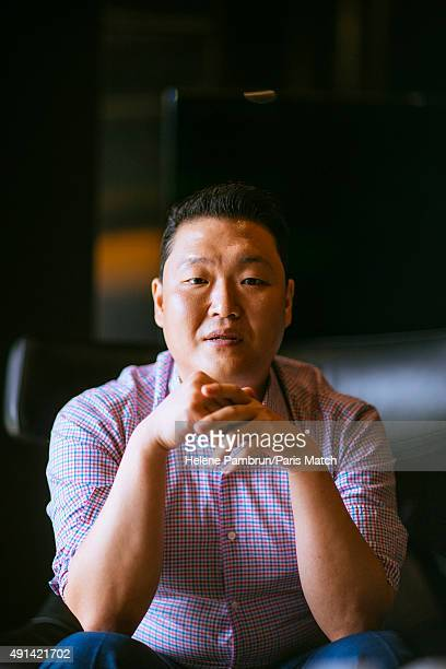Singer Psy is photographed for Paris Match on August 24 2015 in Seoul South Korea