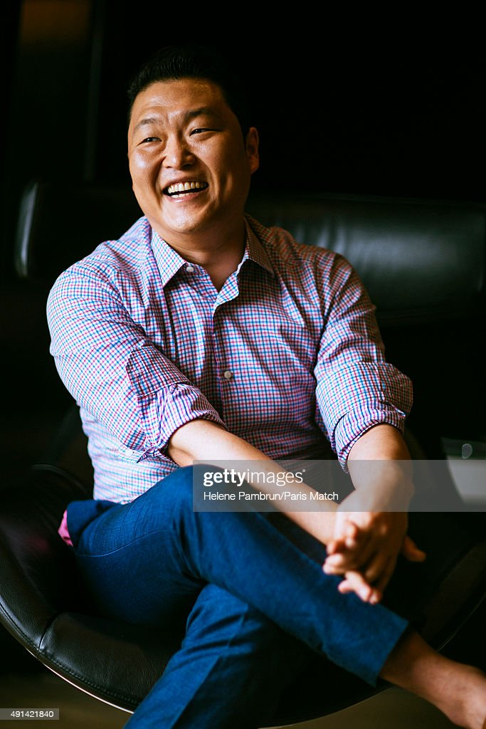 Singer Psy is photographed for Paris Match on August 24, 2015 in Seoul, South Korea.