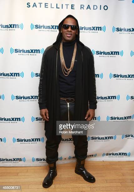 Singer R Kelly visits at SiriusXM Studios on December 10 2013 in New York City