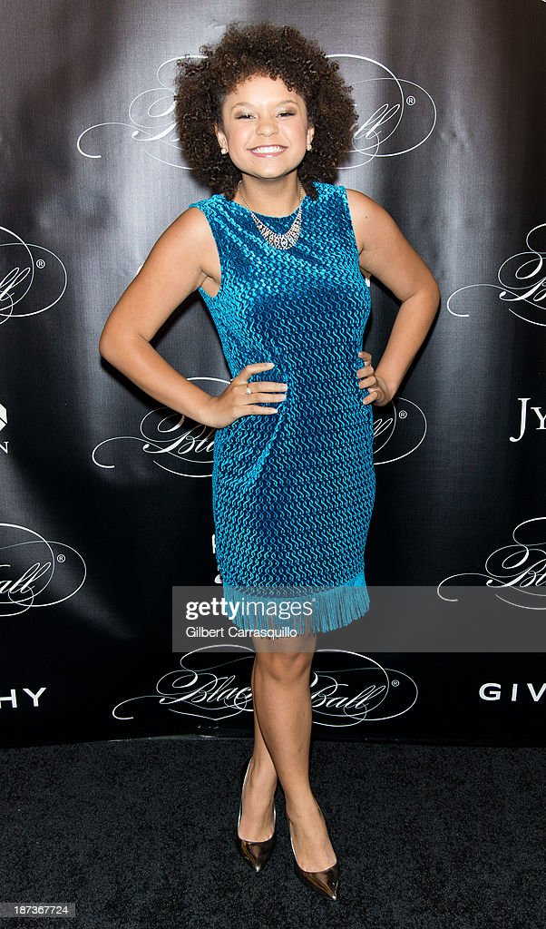 Singer Rachel Crow attends the 10th annual Keep A Child Alive Black Ball at Hammerstein Ballroom on November 7, 2013 in New York City.