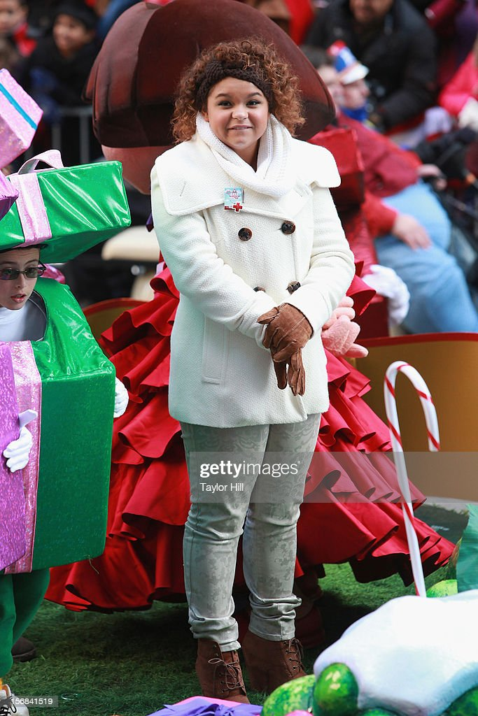Singer Rachel Crow attends the 86th Annual Macy's Thanksgiving Day Parade on November 22, 2012 in New York City.