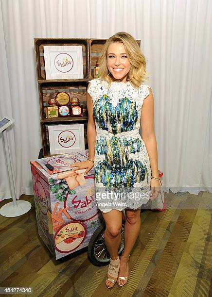 Singer Rachel Platten attends the Backstage Creations retreat at Teen Choice 2015 at the Galen Center on August 16 2015 in Los Angeles California