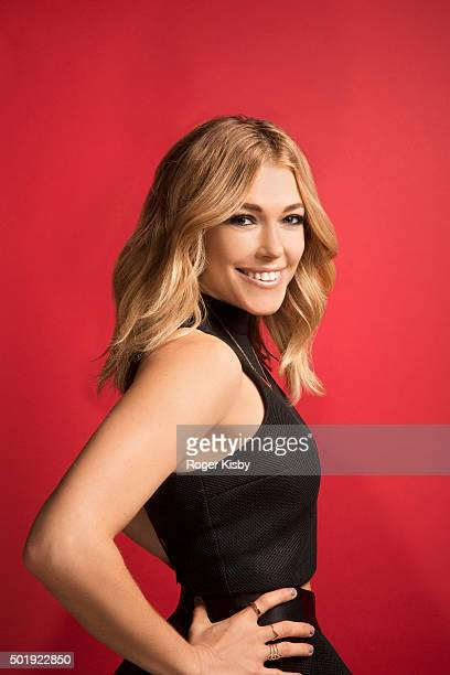 Singer Rachel Platten poses for a portrait at the 16th Annual TJ Martell Foundation New York Family Day on December 13 2015 at Brooklyn Bowl in New...
